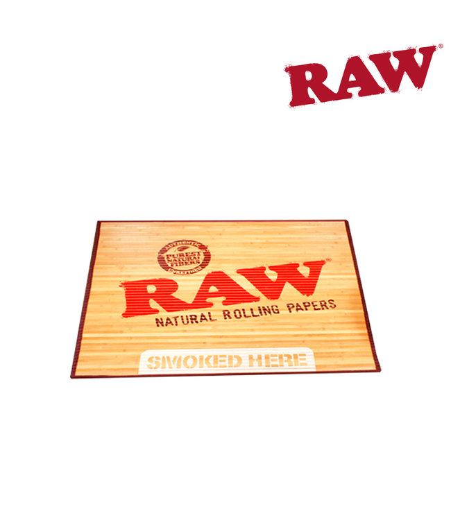 RAW RAW Bamboo Doormat Small 30″ X 17.75″
