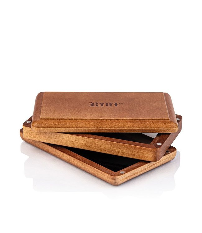 "RYOT RYOT Pollen/Shaker Box 3"" x 5"" Slim Walnut"