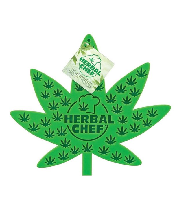 "Herbal Chef Herbal Chef 7"" x 8"" Silicone Trivet/Pot Holder"
