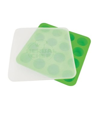 "Herbal Chef Herbal Chef 8.5"" x 8.5"" Silicone Tray w/ Lid"