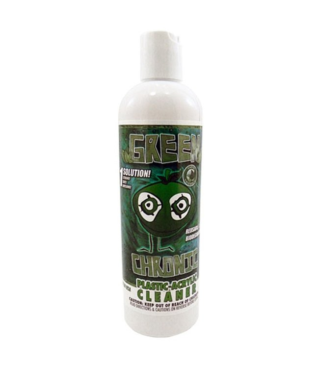 Orange Chronic Green Chronic Plastic / Acrylic Cleaner 12oz
