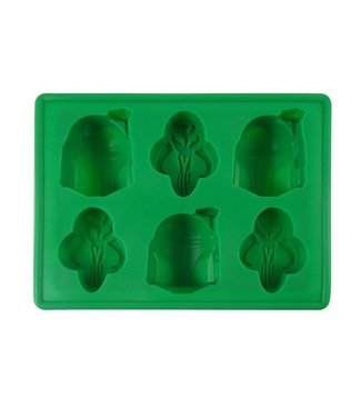 Dope Molds Dope Molds Silicone Gummy Mold - Boba Fett - Green