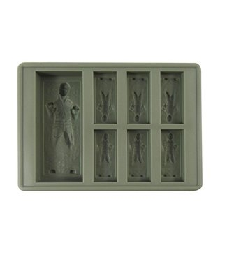 Dope Molds Dope Molds Silicone Gummy Mold - Han Solo - Grey