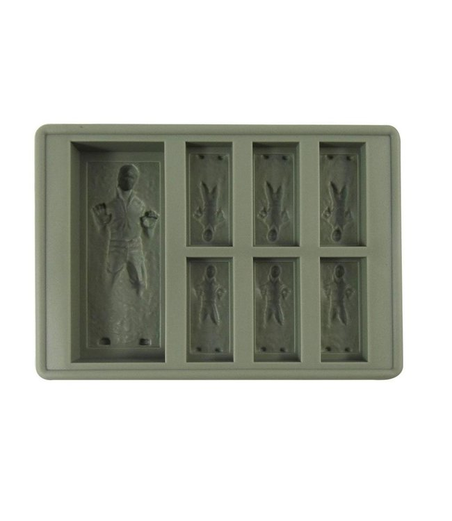 Dope Molds Dope Molds Silicone Gummy Mold Han Solo Grey