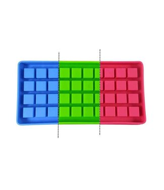 Dope Molds Dope Molds Silicone Gummy Mold - 40 Cavity Cube