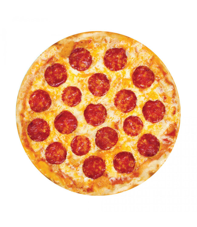 "My Dab Mat My Dab Mat - Pepperoni Pizza 11"" Silicone"