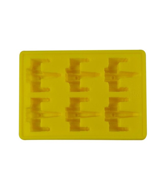 Dope Molds Dope Molds Silicone Gummy Mold X-Wing Yellow