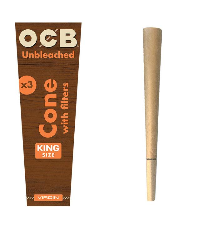 OCB Virgin Pre-Rolled Cones King Size