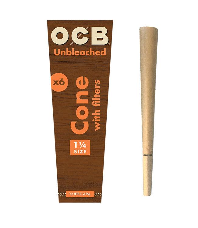 OCB OCB Virgin Pre-Rolled Cones 1 1/4