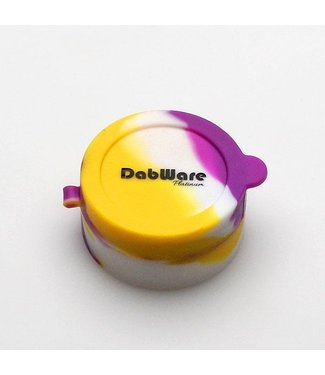 DabWare DabWare Platinum Flip Top 10ml Silicone Container