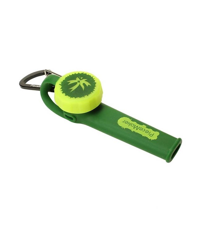PieceMaker Karma Go! Silicone Pipe - Green