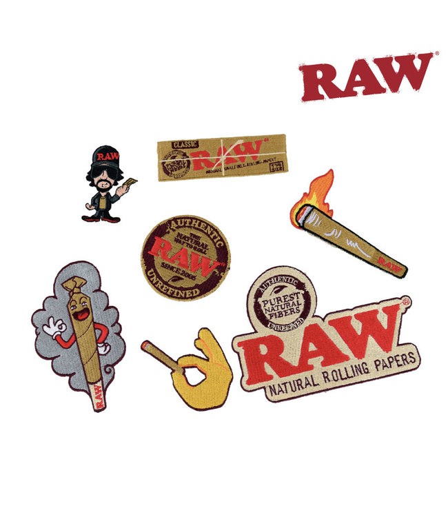 RAW RAW Smokers Patch Collection