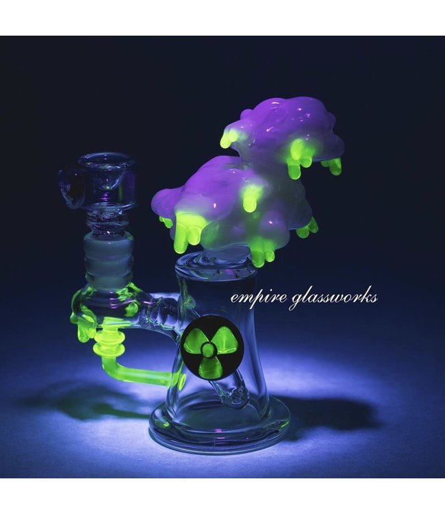 Empire Glassworks Empire Glass UV Radioactive Acid Rain Cloud Mini Rig
