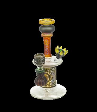 """Cheech Glass Cheech Glass 8"""" Sandblast Rook Rig"""