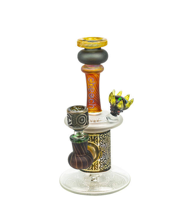 "Cheech Glass Cheech Glass 8"" Sandblast Rook Rig"