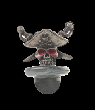 Cheech Glass Cheech Glass Pirate Skull Carb Cap