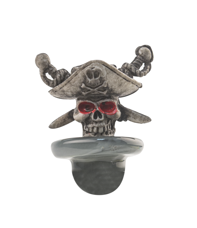 Cheech Glass Cheech Glass Pirate Skull Carb Cap