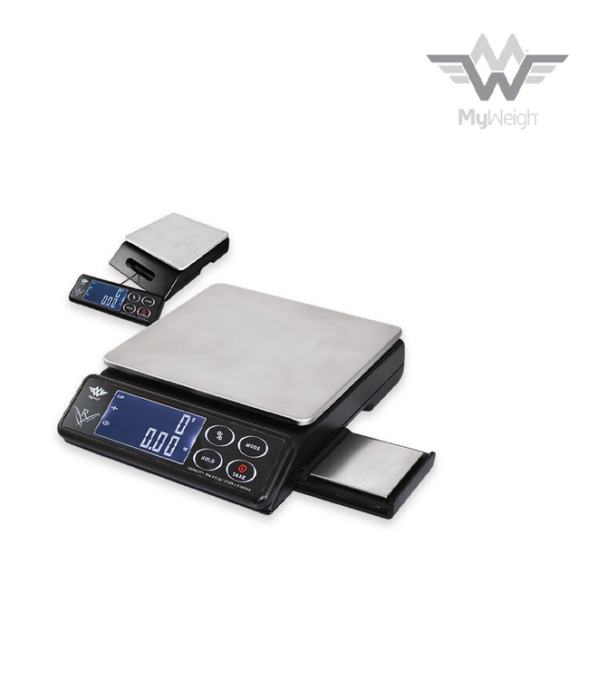 MyWeigh MyWeigh Maestro Dual Tray Scale (8kg x 1g and 200g x 0.1g)