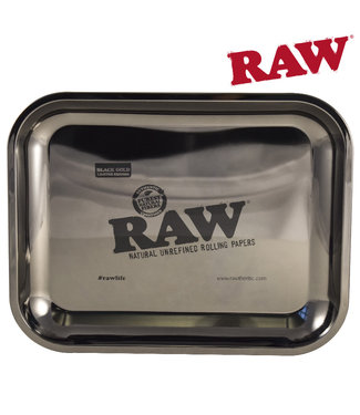 RAW RAW Black Gold Rolling Tray