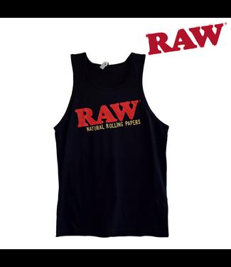 RAW RAW Black Tank Top