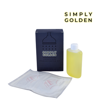 Simply Golden Synthetic 3.5oz Urine Bottle Kit