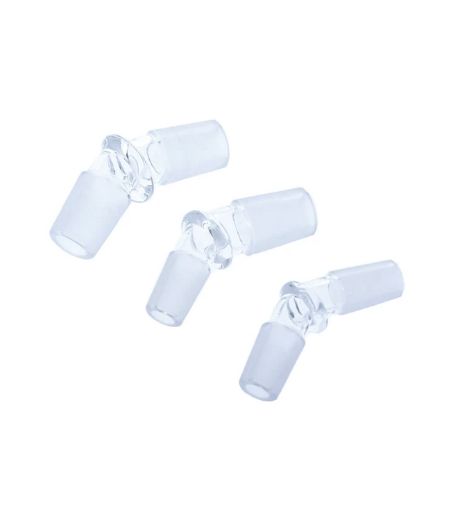 Hoss Glass Hoss Glass 30° Male-to-Male Adapter (No Logo)