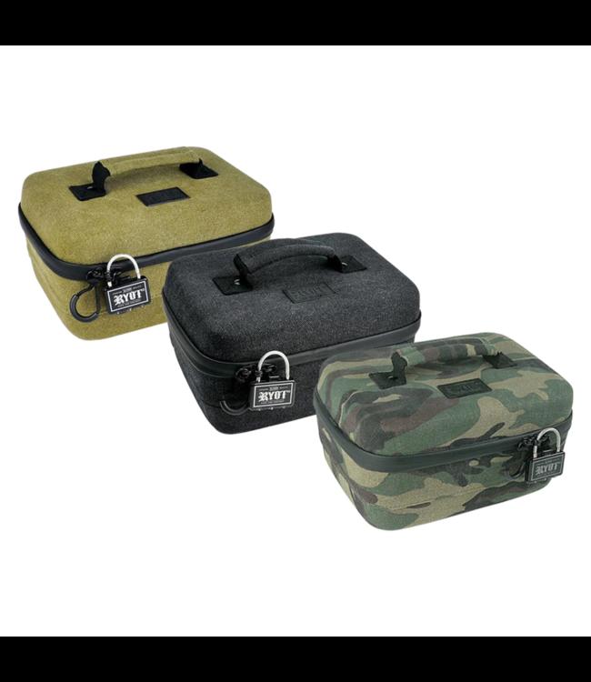 RYOT RYOT Safe Case Carbon Series w/ Lock Large