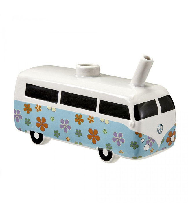 """Vintage Bus 7.5"""" Ceramic Pipe"""