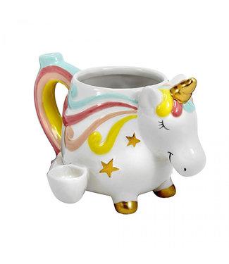 Ceramic Unicorn Mug Pipe