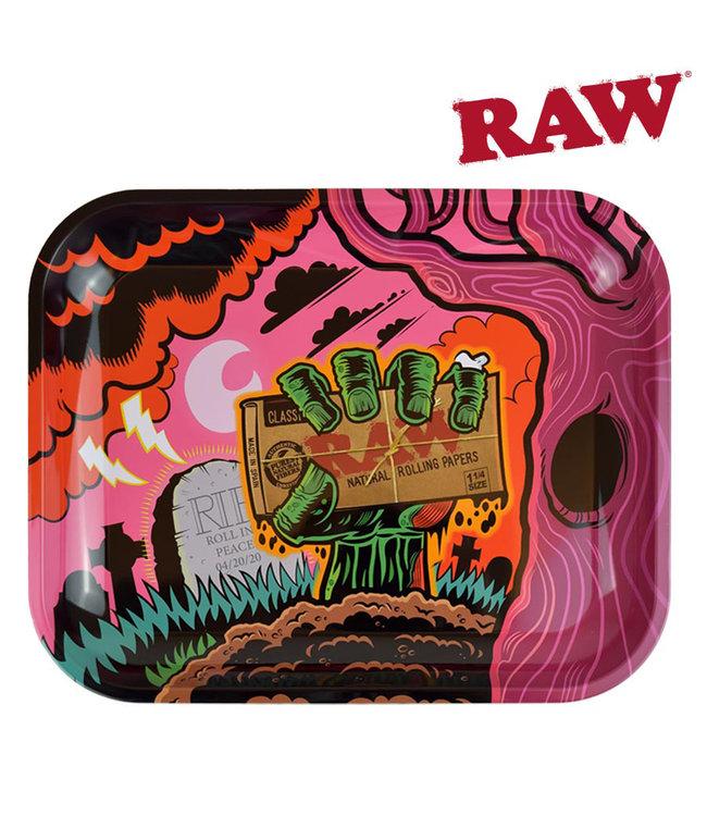 RAW RAW Zombie Rolling Tray Large 35.5cm x 27.5cm