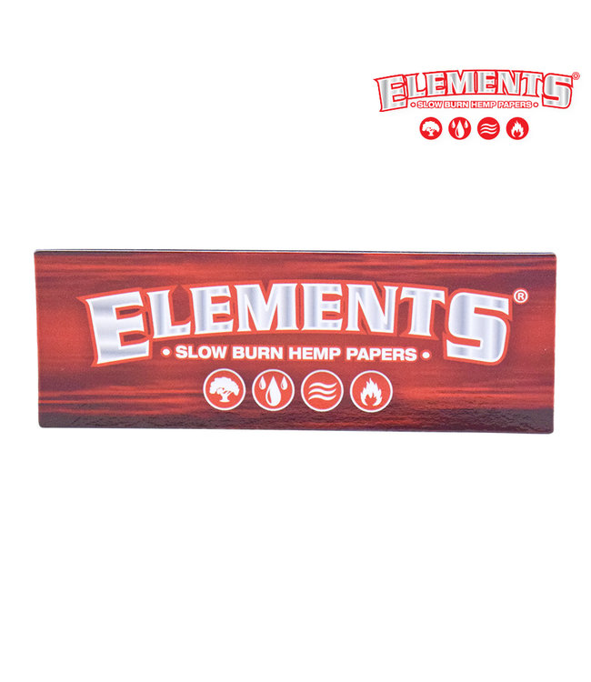 Elements Elements Fridge Magnet Red Logo