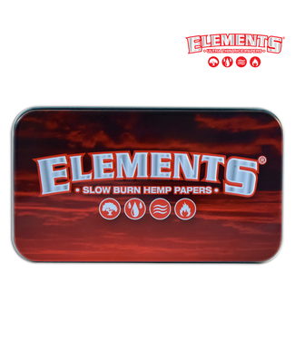 "Elements Elements Red 4.5"" x 2.5"" Tin Case"