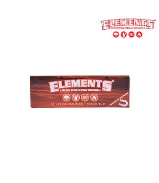 Elements Elements Red Slow Burn Hemp Papers 1 1/4