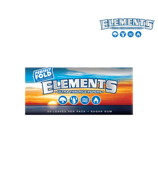 Elements Elements Blue Ultra Thin Rice Papers Perfect Fold 1 1/4