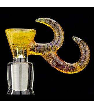 Gump Glass Gump Glass 14mm Double Horn Bowl [GU32]