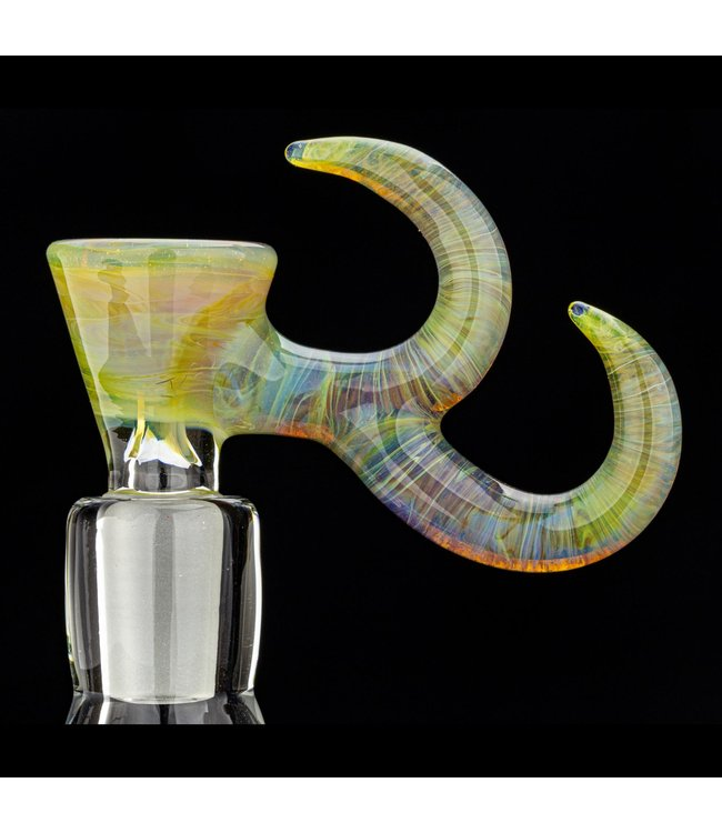 Gump Glass Gump Glass 14mm Double Horn Bowl [GU36]