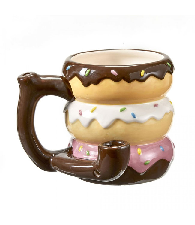 Ceramic Donut Mug Pipe