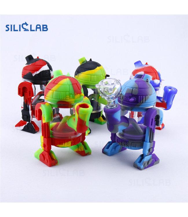 """SilicLab 5.5"""" Silicone Robot Banger Hanger"""