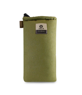 "Vatra Vatra 8"" Padded Tube String Bag - Green Hemp"