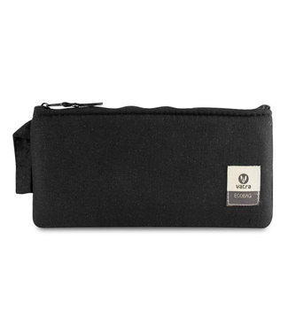 "Vatra Vatra 8"" Padded Zipper Pouch - Black Hemp"