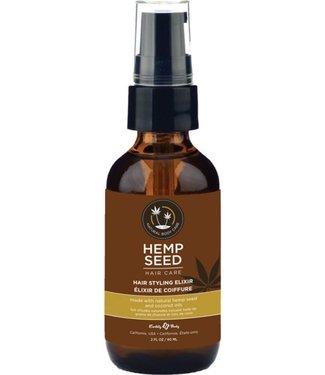 Earthly Body Hemp Seed Hair Care - Hair Styling Elixir