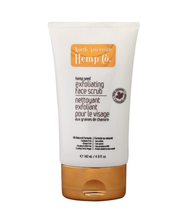 North American Hemp Co. NAH Exfoliating Face Scrub (142ml)