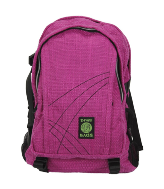 "Dime Bags 18"" Hemp Backpack - Magenta"