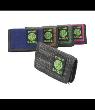 """Dime Bags 5"""" Hemp Wallet"""
