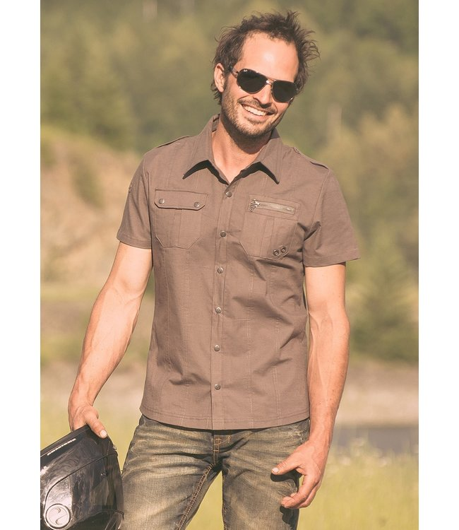 Nomads Hemp Militia Shirt Khaki Green M