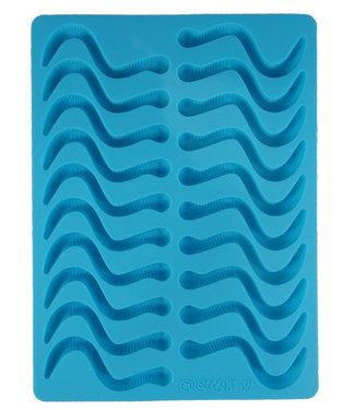 Dope Molds Dope Molds Silicone Gummy Mold - Classic Gummy Worm - Blue