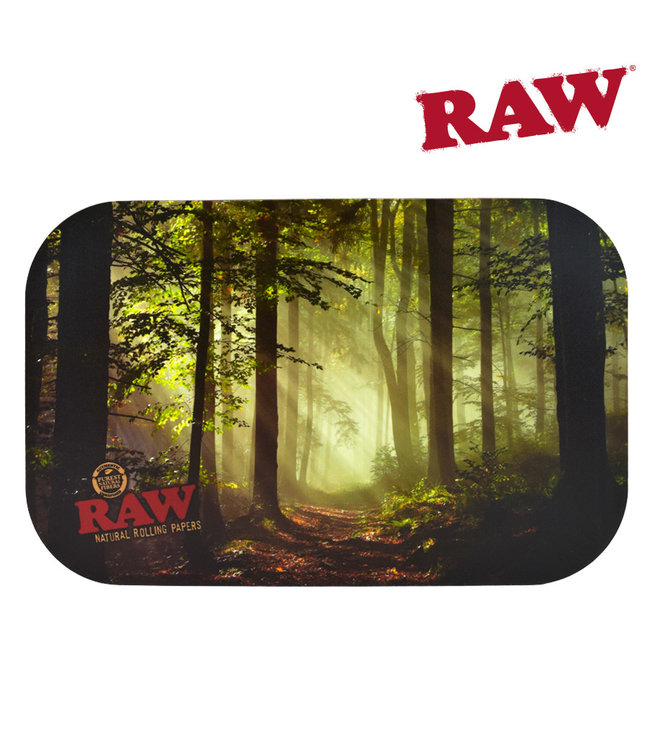 RAW RAW Smokey Forest Rolling Tray Cover Small
