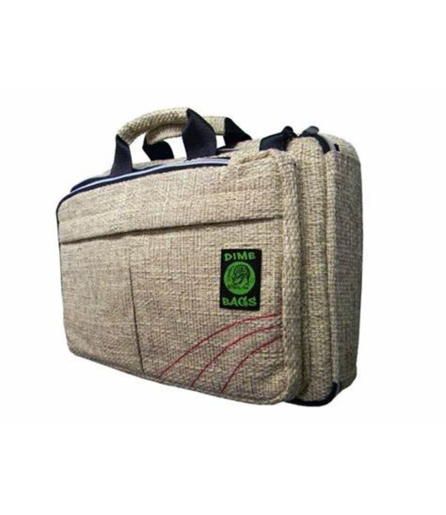 Dime Bag Hemp Rollies Laptop/Computer Bag Beige