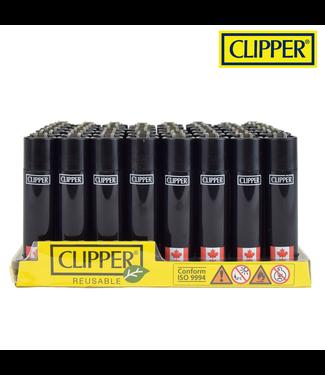 Clipper Clipper Refillable Lighter Canada Flag