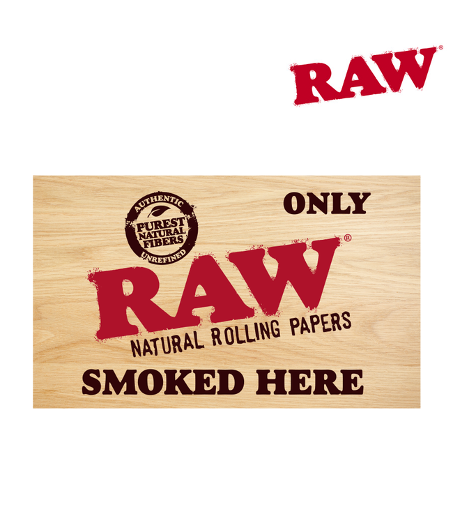 RAW RAW Sticker Only RAW Smoked Here
